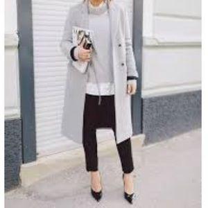 Nordstrom's Chelsea28 Gray Mock Neck Sweater